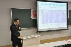 Prof. Sudo talks on economics