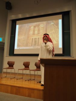 Mohammad presents on Jordan