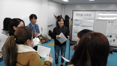Photo of Graduation Thesis Poster Presentations – 1