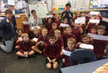 Photo of NZ School Visit
