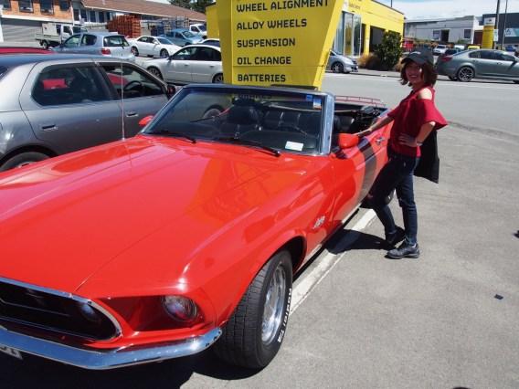 Aya's new car