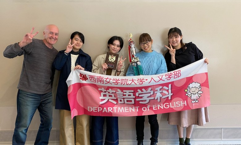 Photo of 2019 Baiko Gakuin ESS Presentation Contest