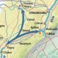 Saône-Moselle.Saône- Rhin