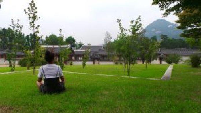 Jardin Gyeongbokgung Palace