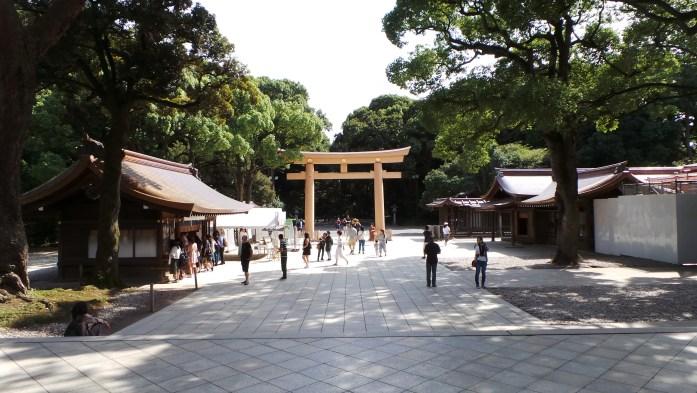Meiji-jingu japan