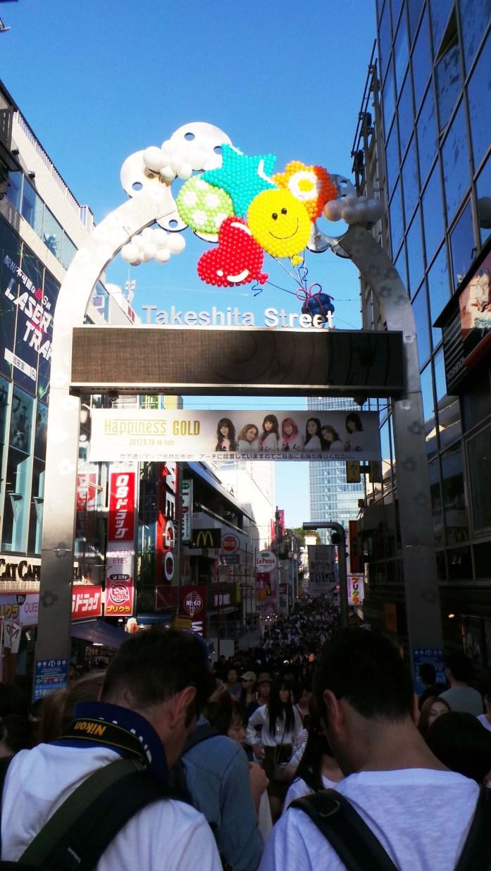 takeshita street japan