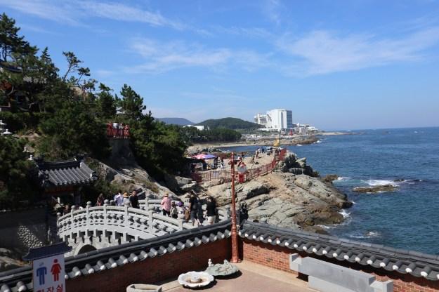 Haedong Yonggungsa Temple - vue sur mer
