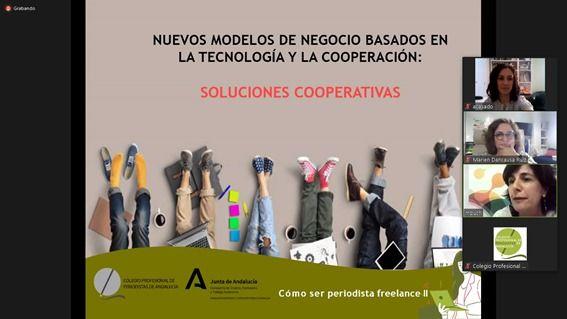 La agencia de comunicación de Sevilla en un Webinar del Colegio de Periodistas de Andalucía