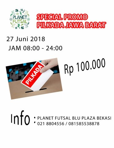 Promo Planet Futsal