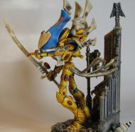 This model has had extensive conversions and sculpting involved.