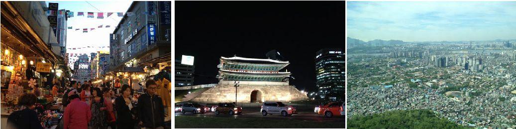 礒谷療法韓国セミナー明洞観光