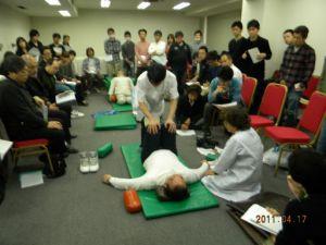 ジャパン柔道整復師会主催礒谷療法セミナー2011.4.17