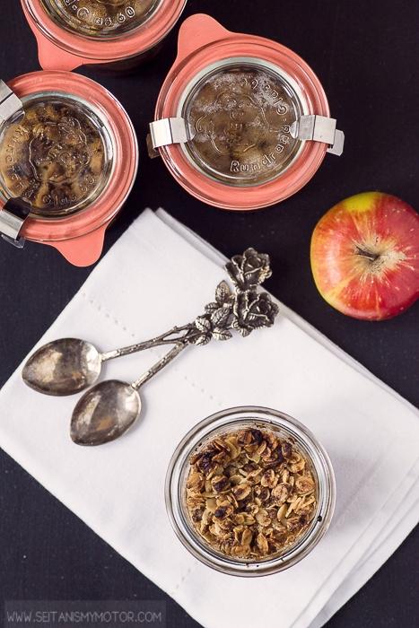 vegan apple crisp | seitanismymotor