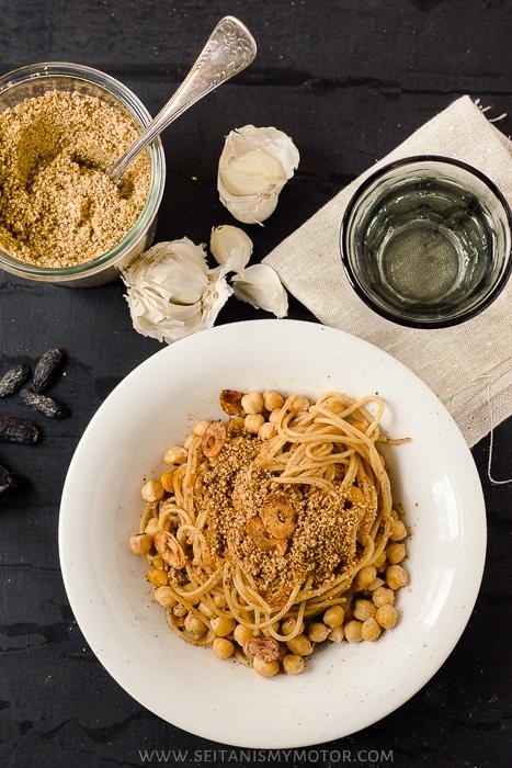 tonka bean pasta | www.seitanismymotor.com