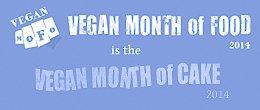 vegan month of cake | www.seitanismymotor.com