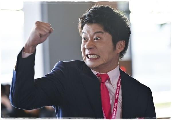 田中圭おっさんずラブin the skyの髪型!オーダー&セット方法を解説