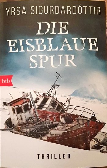 Die Eisblaue Spur – Yrsa Sigurdardottir