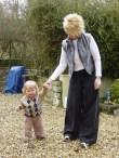 MasterB walking...