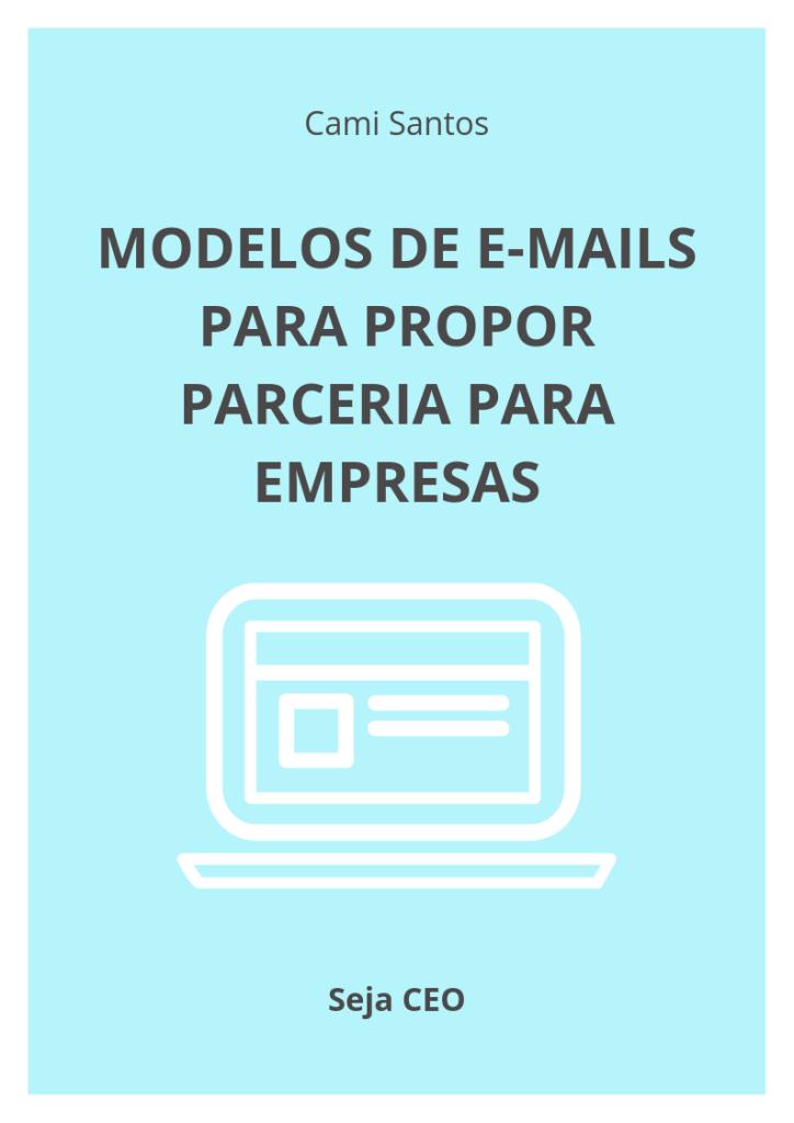 modelo de emails para parceria