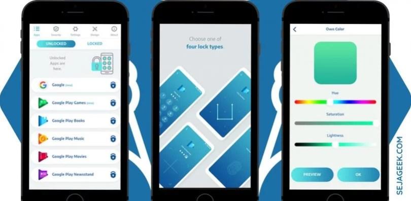 AppLock PRO: Bloqueio de Apps com Impressão Digital 1