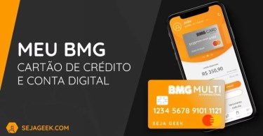 Banco Meu BMG Cartão de Crédito e Conta Digital