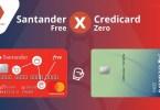 Credicard Zero ou Santander Free