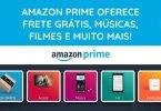 Amazon Prime oferece frete grátis músicas e vídeos