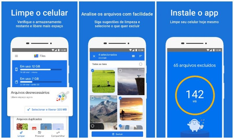 Files do Google Liberar espaço no Android