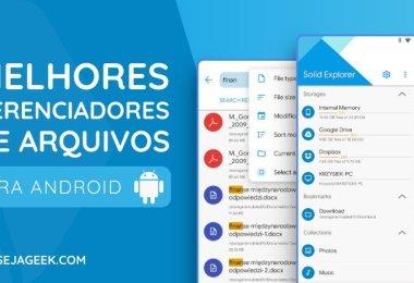 5 Melhores Gerenciadores de Arquivos para Android