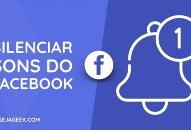 Como remover sons no aplicativo do Facebook