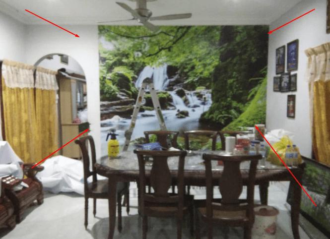 pasang wallpaper dinding makassar