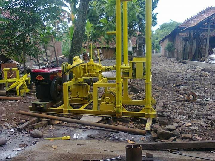 Pembuatan Sumur Bor di Ambon