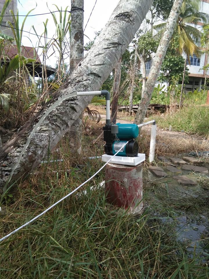 Pembuatan Sumur Bor  Pemangkat