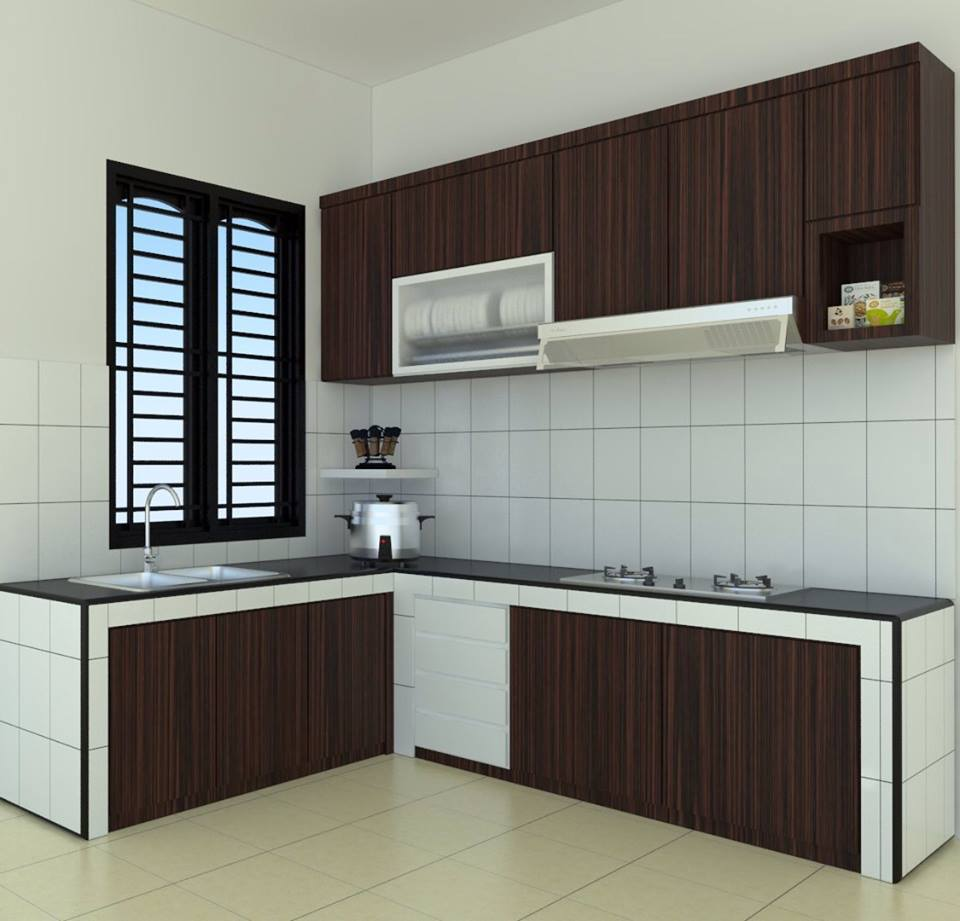 Tukang Pembuat Kitchen Set Minimalis  Polewali