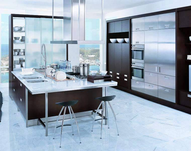Pembuat Kitchen Set Aluminium  Sengkang