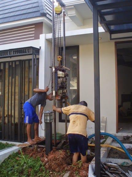 Tukang Sumur Bor di Tanjung Jabung Barat