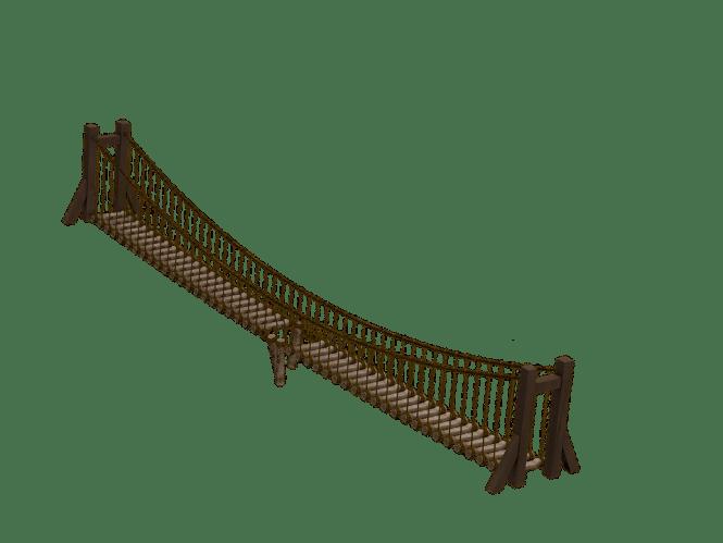 Pembuatan Jembatan Gantung