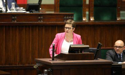 Katarzyna Lubnauer fot. Kancelaria Sejmu - Krysztof Białoskórski
