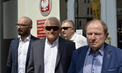 Leszek Miller, Tadeusz Iwiński/fot. SejmLog