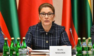 Beata Mazurek/Fot. Łukasz Błasikiewicz/Kancelaria Sejmu RP/CC BY 2.0/Flickr