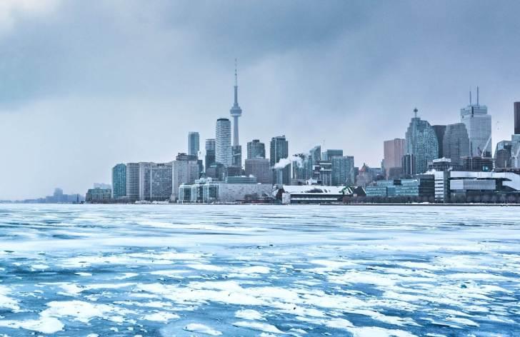 カナダ、冬、トロント、服装
