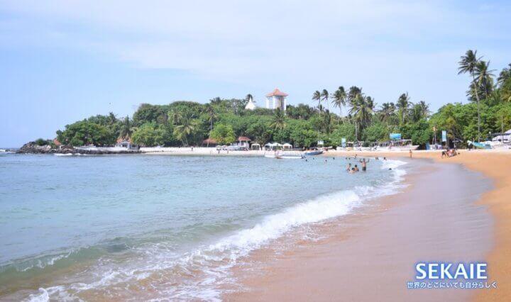 スリランカ、ウナワトゥナ 、ゴール、ビーチ