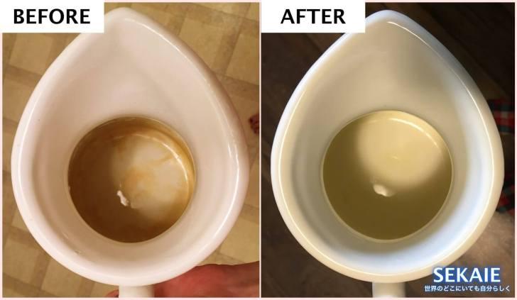 茶渋,取り方,ステンレス,水筒,重曹,熱湯,つけ置き