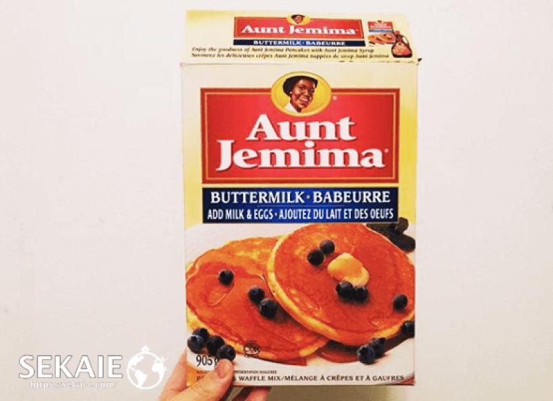 aunt jemimaのパンケーキミックス