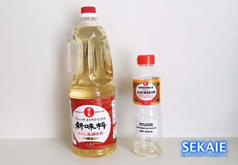 海外で,自炊,調味料,代用品,日本食,みりん