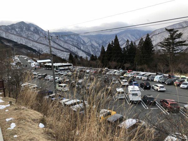 三峯神社 白い氣守 駐車場