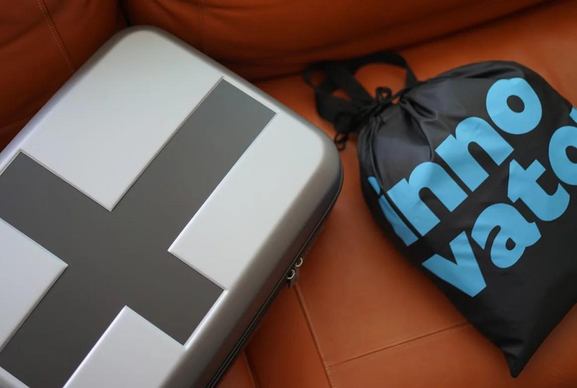 イノベーターのスーツケース