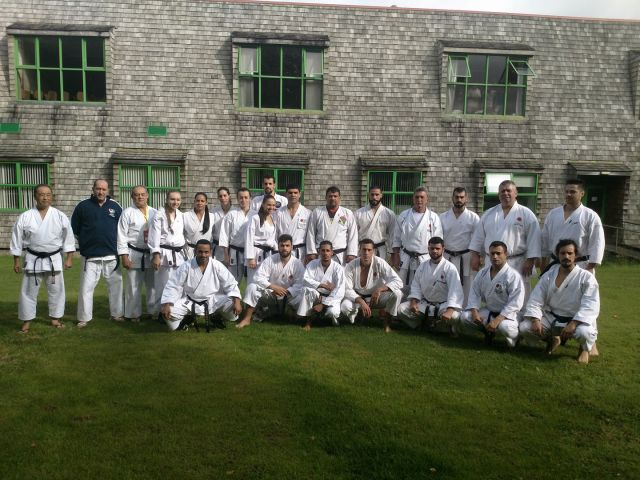 Time Adulto Karate (Fonte JKA Brasil)
