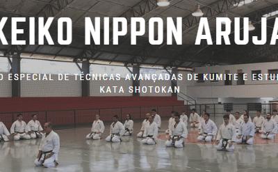 Keiko Nippon Aruja – Treino especial em prol dos atletas da seleção brasileira