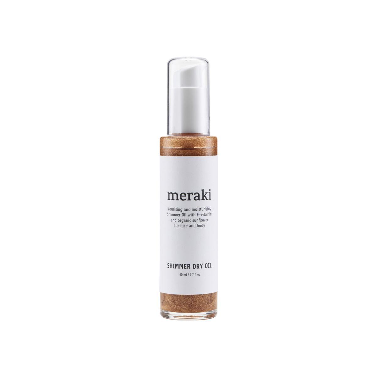 Meraki kropsolie Shimmer dry oil